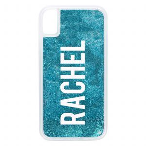 iPhone XR Glitter Case - Blue