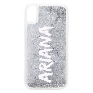 iPhone XR Glitter Case - Purple