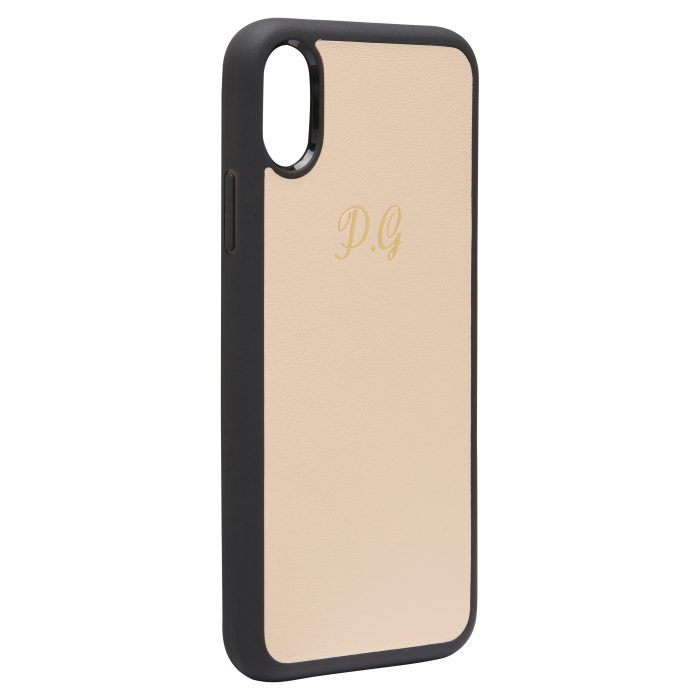 iPhone X/XS Nappa Leather Case - Nuud