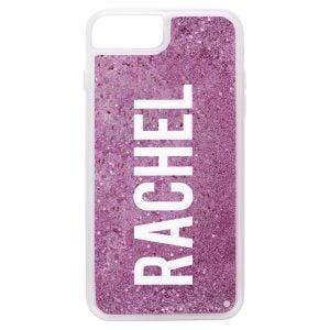 iPhone 7 Plus/8 Plus Glitter Case - Purple