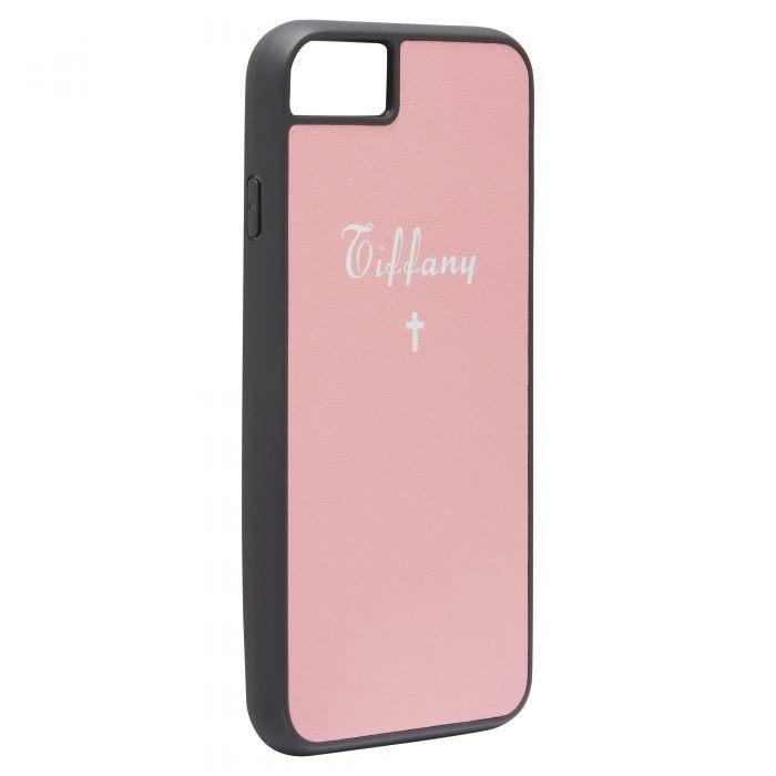 iPhone 7/8 Nappa Leather Case - Orange