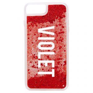 iPhone 7 Plus/8 Plus Glitter Case - Red