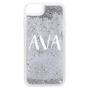 iPhone 7/8 Glitter Case - Silver