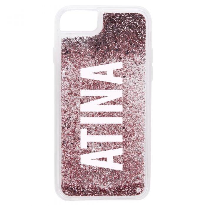 iPhone 7/8 Glitter Case - Rose Gold