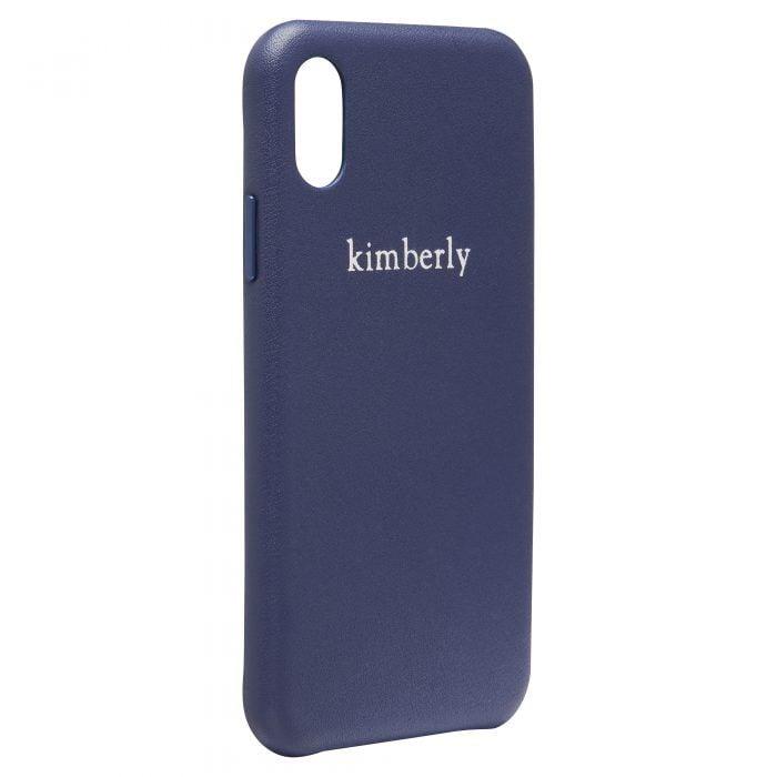 iPhone X/XS Full Wrap Case - Blue