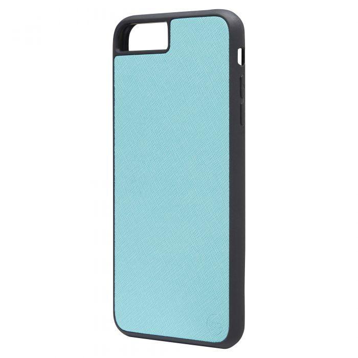iPhone 7 Plus/8 Plus Saffiano Leather Case - Gold
