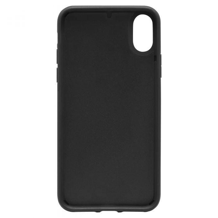 iPhone X/XS Saffiano Leather Case - Blue