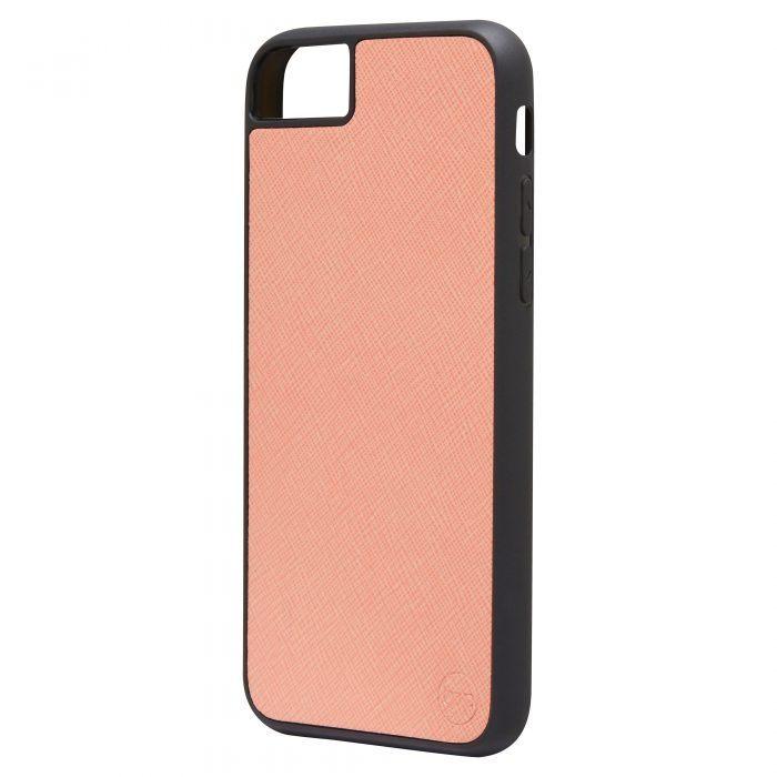 iPhone 7/8 Saffiano Leather Case - Blue