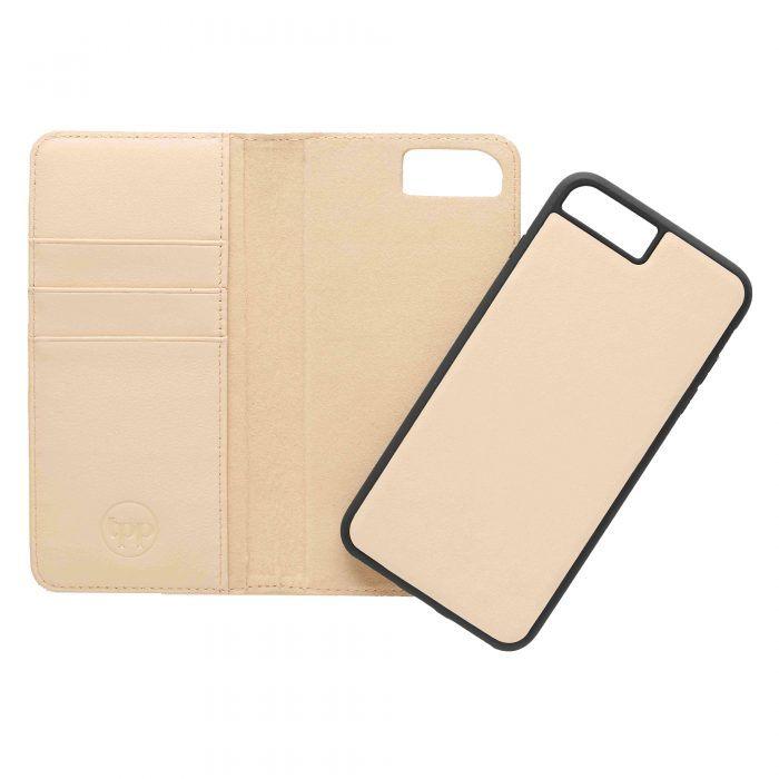 iPhone 7 Plus/8 Plus Leather Wallet Case- Nuud