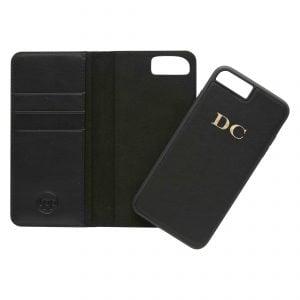 iPhone 7 Plus/8 Plus Leather Wallet Case- Nude