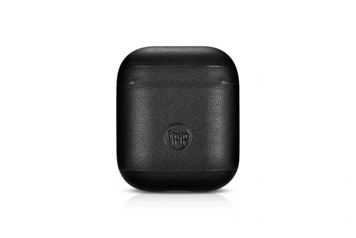 AirPods Leather Case- Black