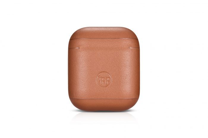 AirPods Leather Case- Tan