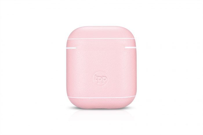 AirPods Leather Case- Pink