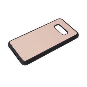 Samsung S10e Nappa Leather Case - Pink