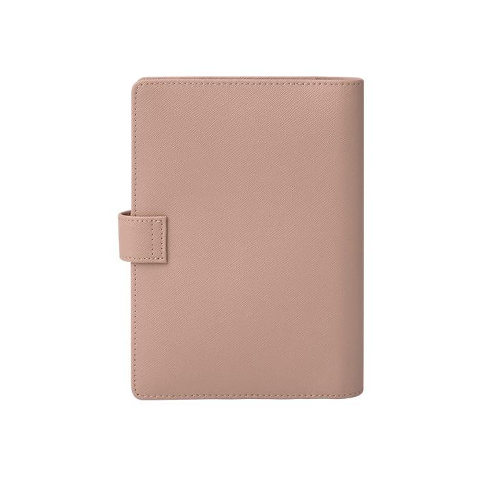 Leather Agenda- Taupe