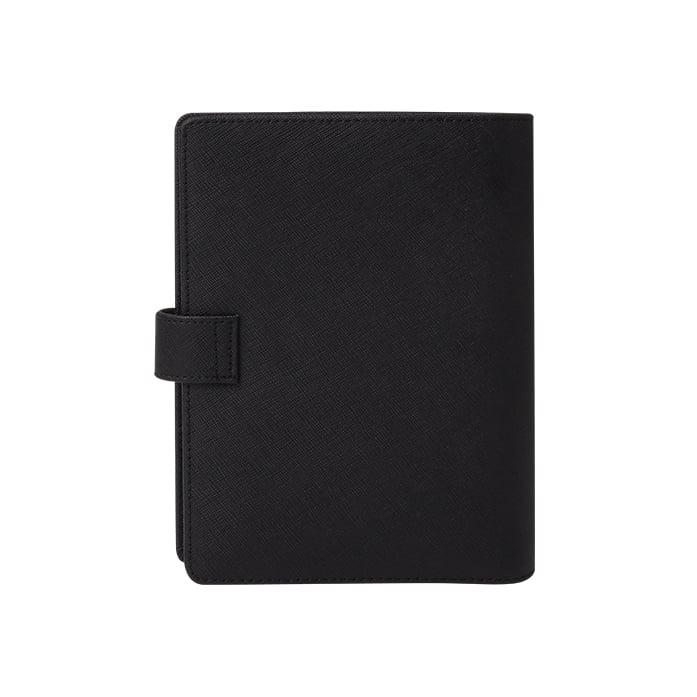 Leather Agenda- Black