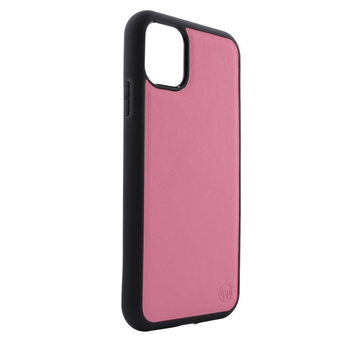 iPhone 11 Pro Max Nappa Leather Case - Black