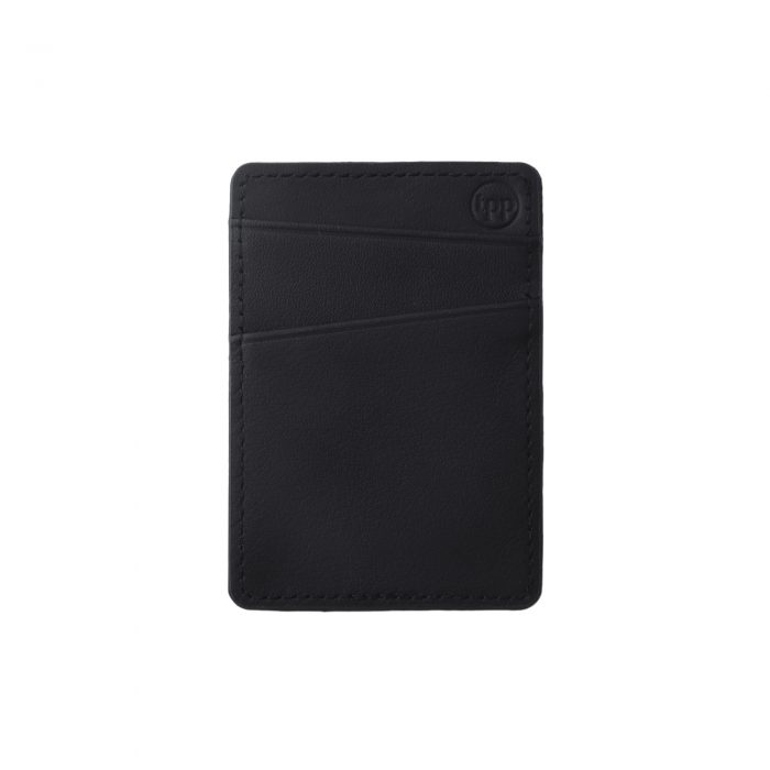 iPhone 11 Saffiano Leather Case - Black