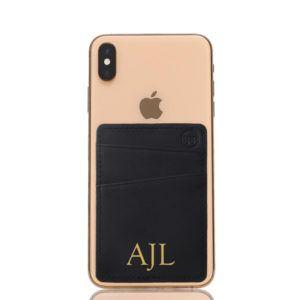 Slim Card Pocket Sleeve- Black