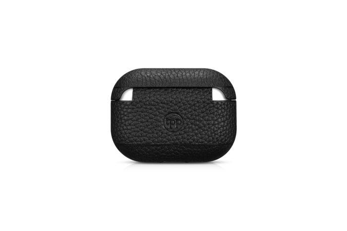 AirPods Pro Leather Case- Grain Black
