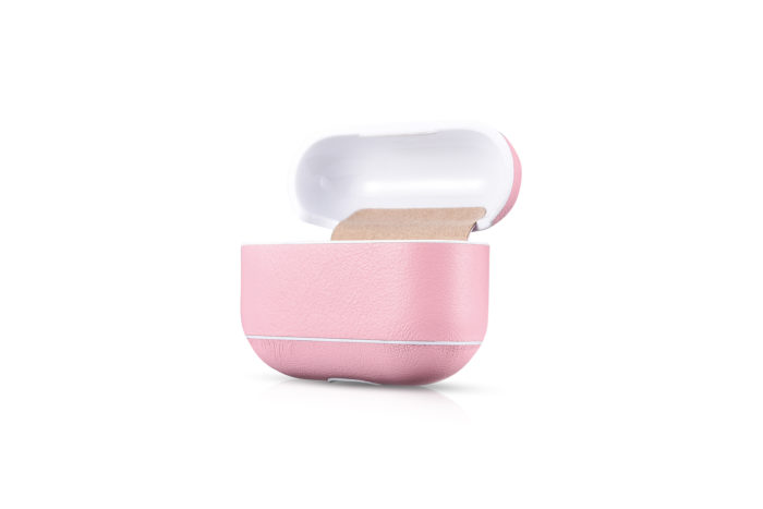 AirPods Pro Leather Case- Pink