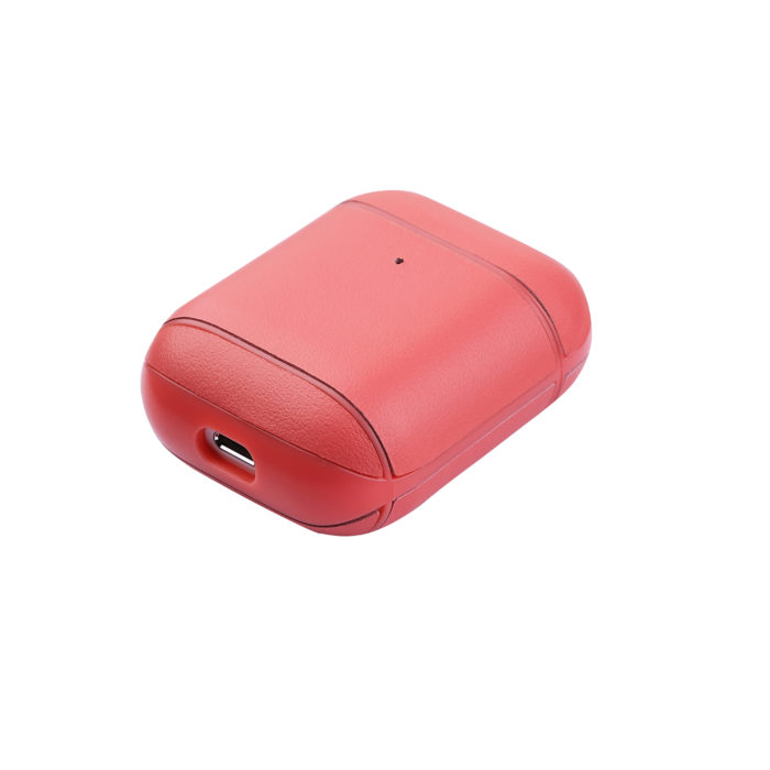 AirPods Leather Case- Peach