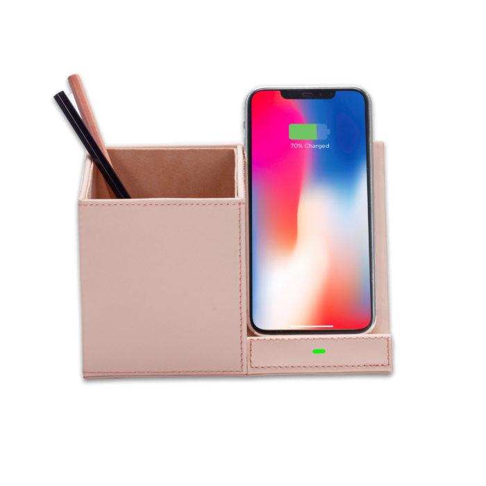 Wireless Charging Desktop Stand- Nude