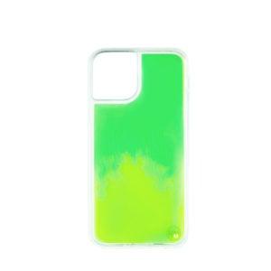 iPhone 11 Neon Sand Case- Green/Yellow