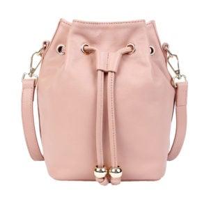 Bucket Bag- Nude