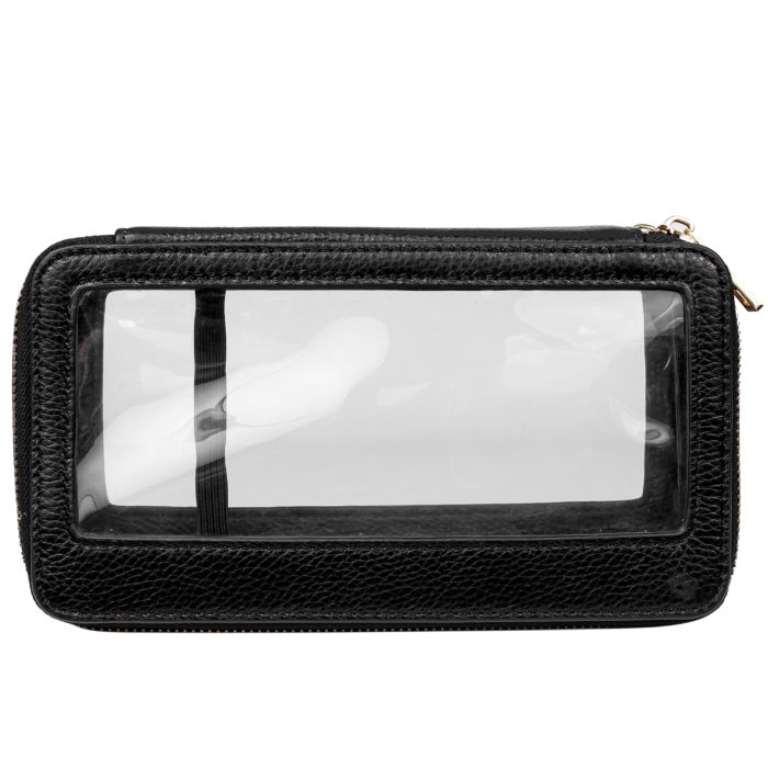 Clear Travel Case- Black