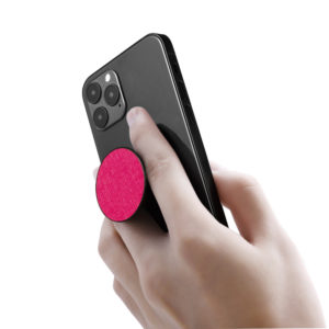 Phone Grips- Saffiano Pink