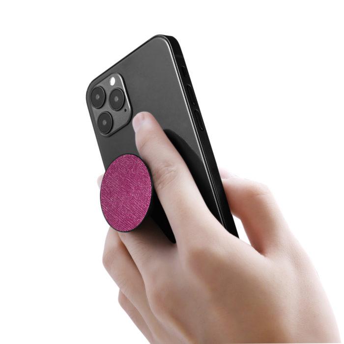 Phone Grips- Saffiano Purple