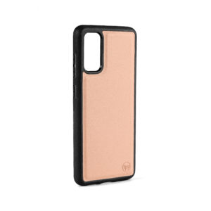 Samsung S20 Nappa Leather Case - Nude