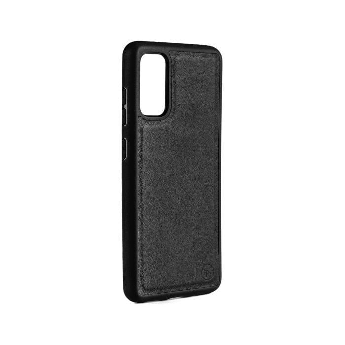 Samsung S20 Nappa Leather Case - Black
