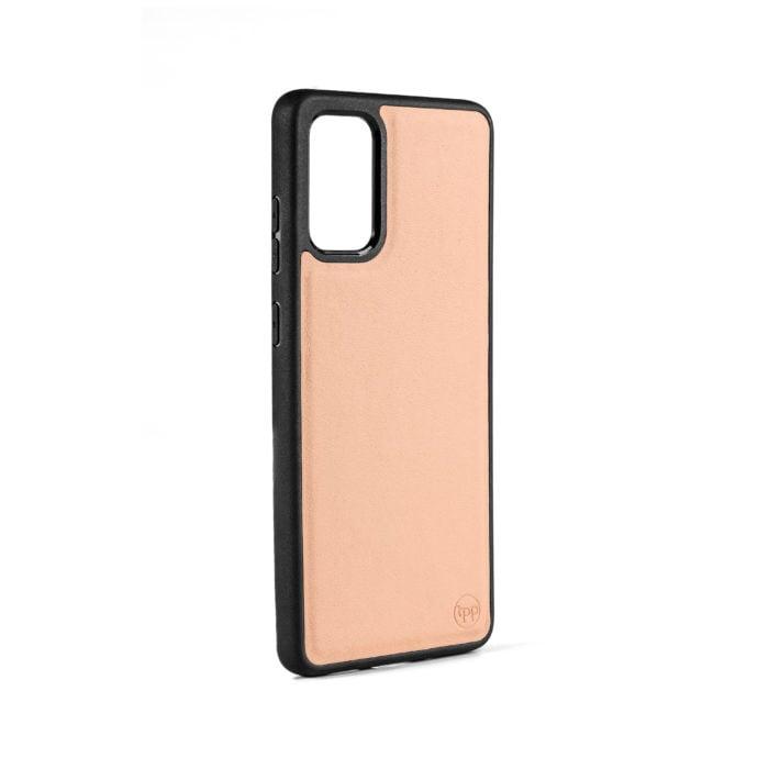 Samsung S20 Plus Nappa Leather Case - Nude