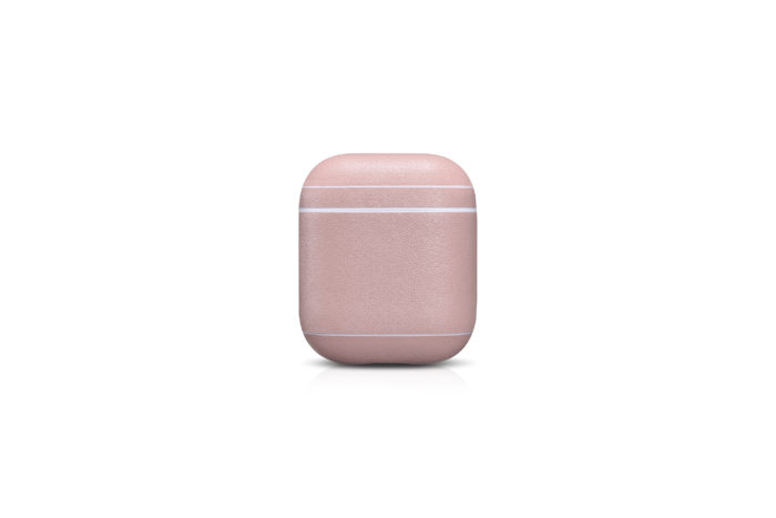 AirPods Leather Case- Blush Nude