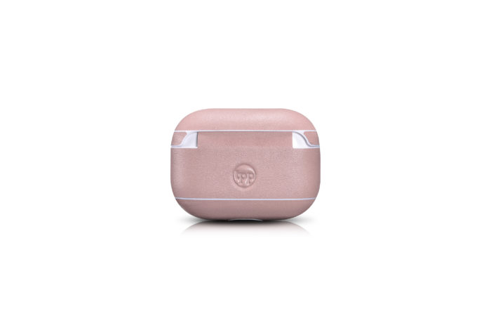 AirPods Pro Leather Case- Blush Nude