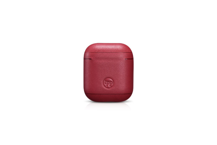 AirPods Leather Case- Red