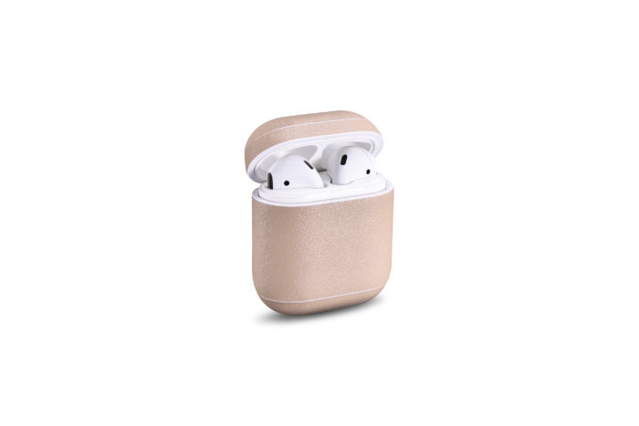 AirPods Leather Case- Nude
