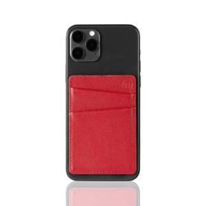 Slim Card Pocket Sleeve- Red