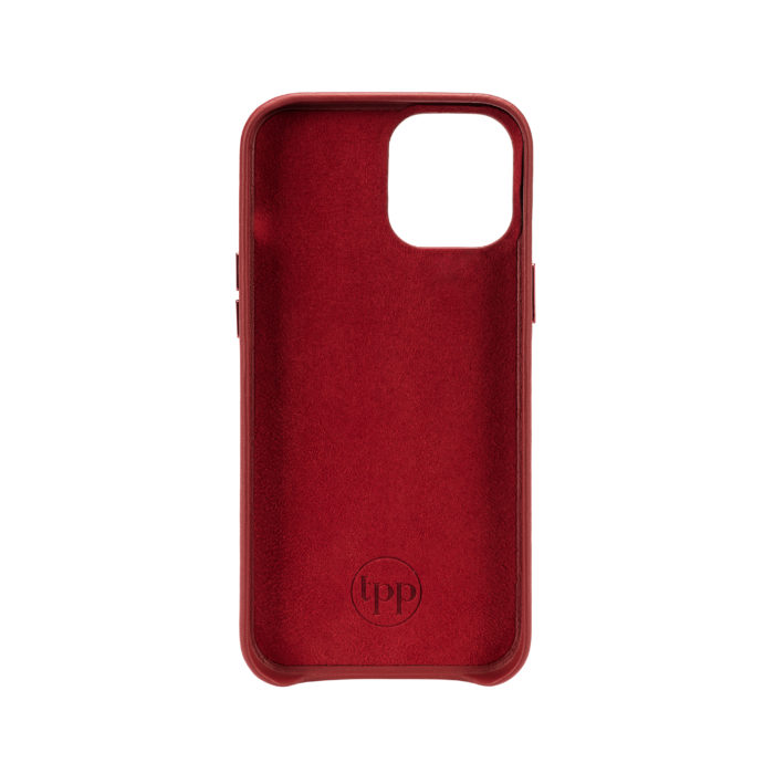 iPhone 12 Letter Strap Case- Red