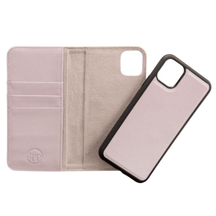 iPhone 11 Pro Leather Wallet Case- Purple