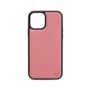 iPhone 12 Nappa Leather Case - Pink