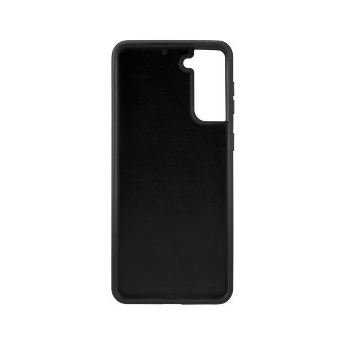 Samsung S21 Nappa Leather Case - Black