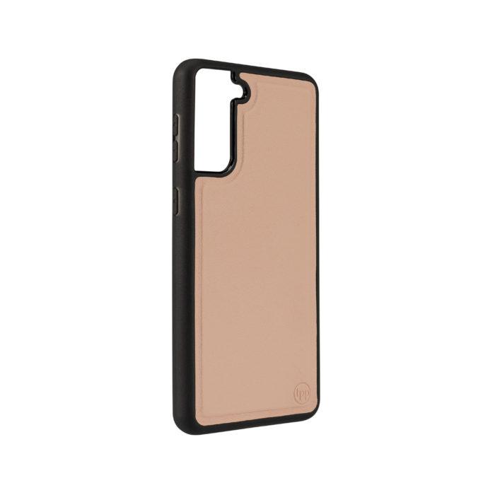 Samsung S21 Plus Nappa Leather Case - Nude
