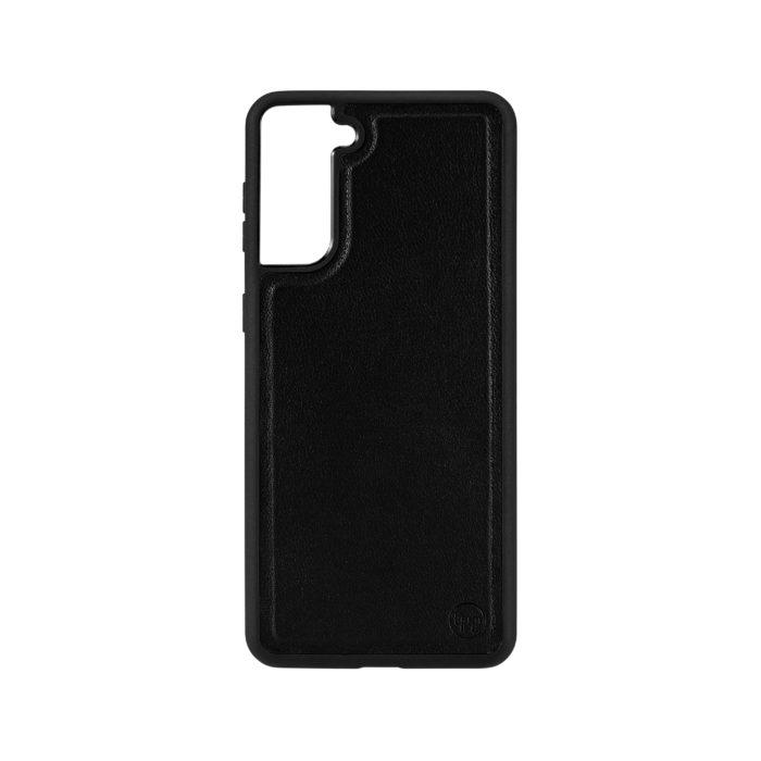 Samsung S21 Plus Nappa Leather Case - Black