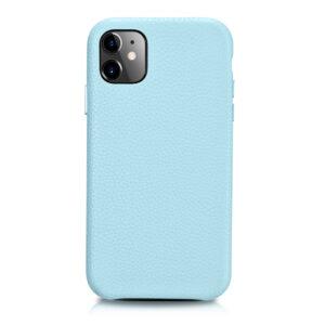 iPhone 11 Full Wrap Case - Grain Aqua