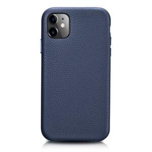 iPhone 11 Full Wrap Case - Grain Navy Blue