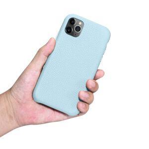 iPhone 11 Pro Max Full Wrap Case - Grain Aqua