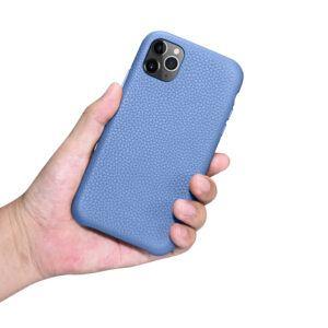 iPhone 11 Pro Max Full Wrap Case - Grain Blue